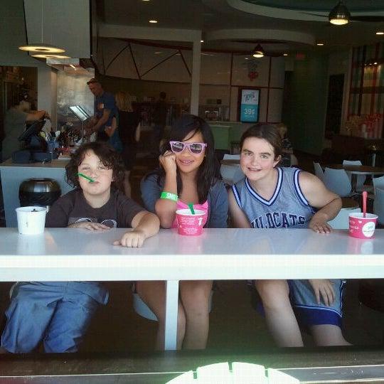 Photo taken at Smart Cow Yogurt Bar by Stacie S. on 10/23/2011