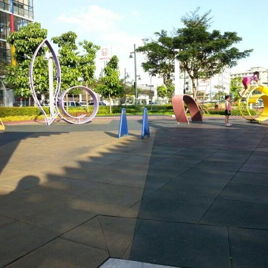 Photo taken at Bonifacio High Playground by Elmer C. on 11/24/2012