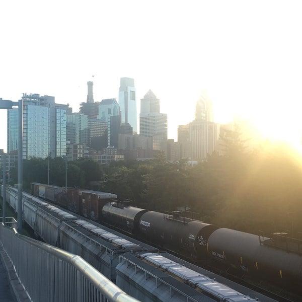 Photo taken at South Street Bridge by Patrizia C. on 8/15/2016