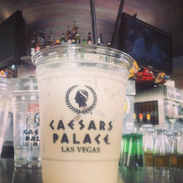 Photo taken at Caesars Palace Gardens by Adam C. on 7/20/2013