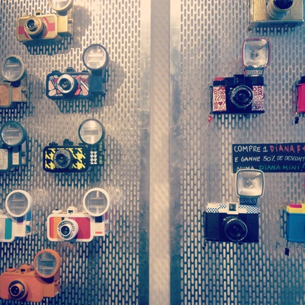 Photo taken at Lomography Gallery Store by Caroline S. on 8/3/2013