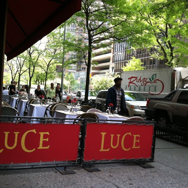 Photo taken at Luce Restaurant & Enoteca by Dakyung J. on 5/10/2013
