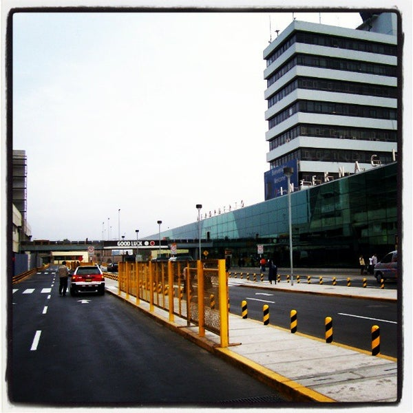 Photo taken at Aeropuerto Internacional Jorge Chávez (LIM) by Daniel Angello on 6/2/2013