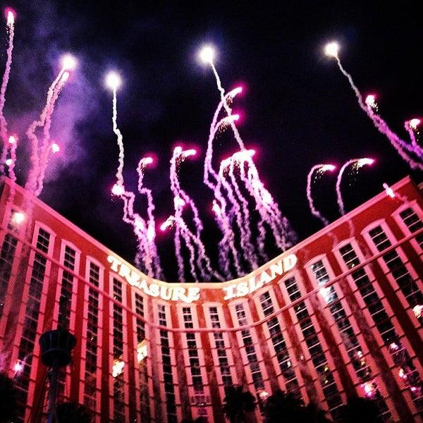 Photo taken at Treasure Island - TI Hotel & Casino by Rodrigo Erse M. on 1/22/2013