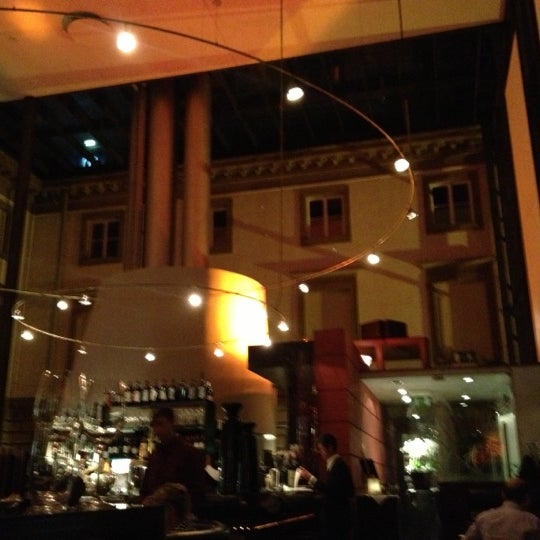 Photo taken at Holbein's Café-Restaurant by Dion H. on 10/22/2012