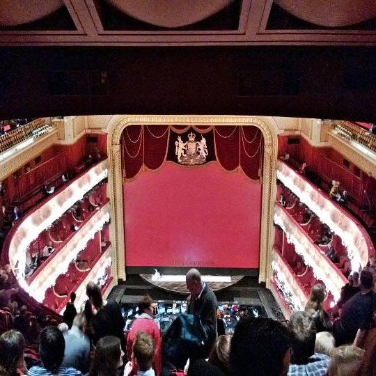 Photo taken at Royal Opera House by Arjun K. on 1/29/2013