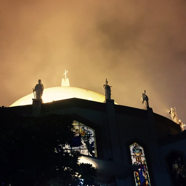 Photo taken at National Shrine of Our Lady of Peace and Good Voyage (Antipolo Cathedral) by Diane G. on 10/4/2015