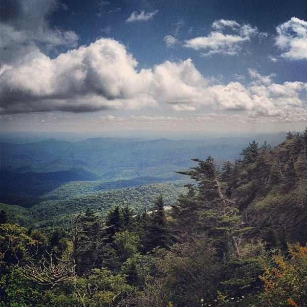 Photo taken at Grandfather Mountain by Charles H. on 9/14/2013