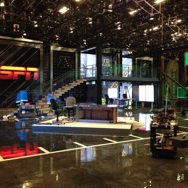 Photo taken at ESPN by Joe P. on 8/13/2014
