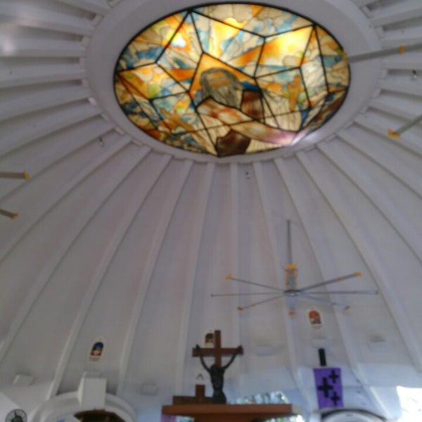 Photo taken at Sto. Niño de Paz Community Chapel by Ang C. on 4/19/2014