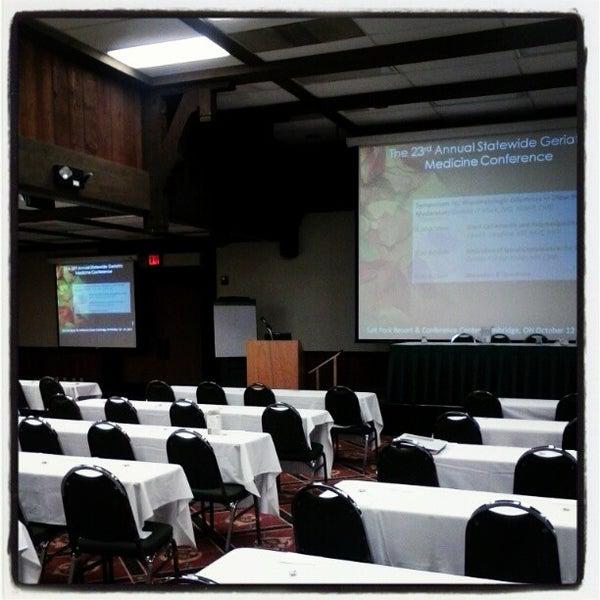 Photo taken at Salt Fork Lodge & Conference Center by Dorjan S. on 10/14/2012