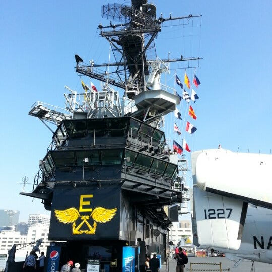 Photo taken at USS Midway Museum by Steve W. on 12/9/2012
