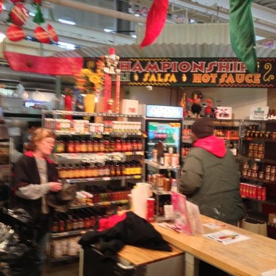 Photo taken at North Market by William W. on 12/28/2012