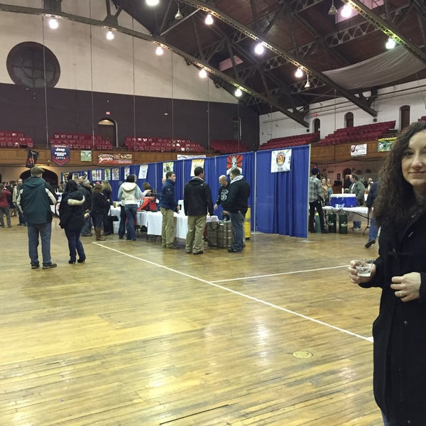 Photo taken at Main Street Armory by Patrick H. on 2/14/2015
