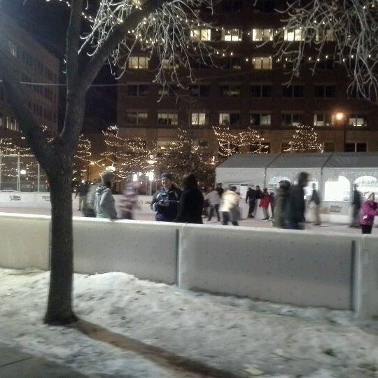 Photo taken at Landmark Plaza by Dale B. on 1/19/2013