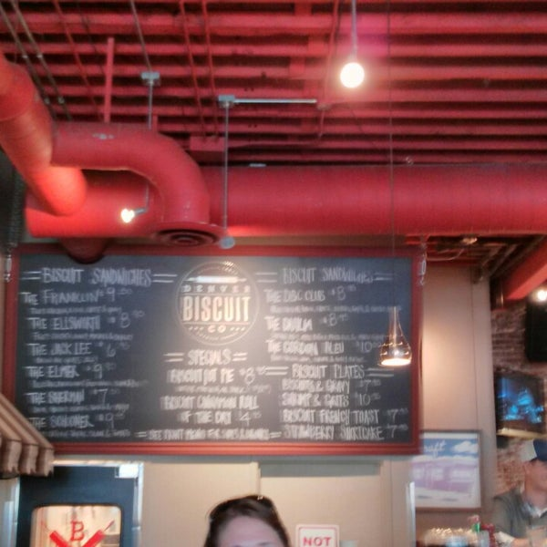 Photo taken at Denver Biscuit Company by tony l. on 4/13/2014