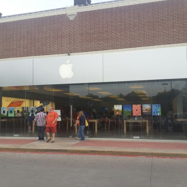 Photo taken at Apple Store, University Park Village by Caner O. on 5/10/2014