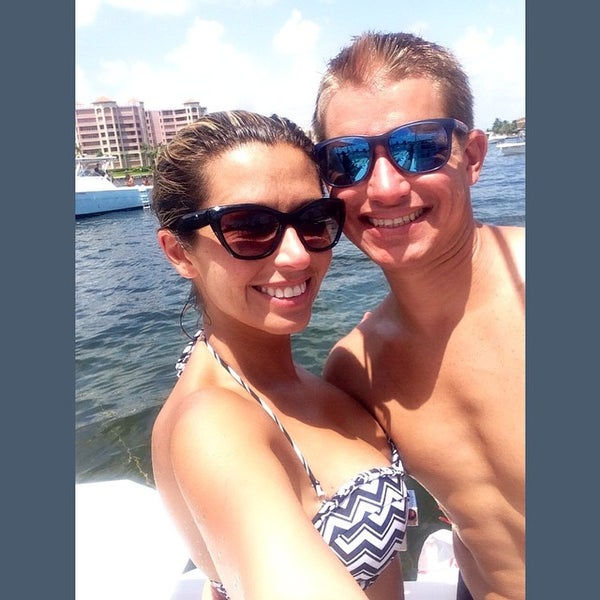 Photo taken at Lake Boca Raton by Vanessa P. on 8/31/2014