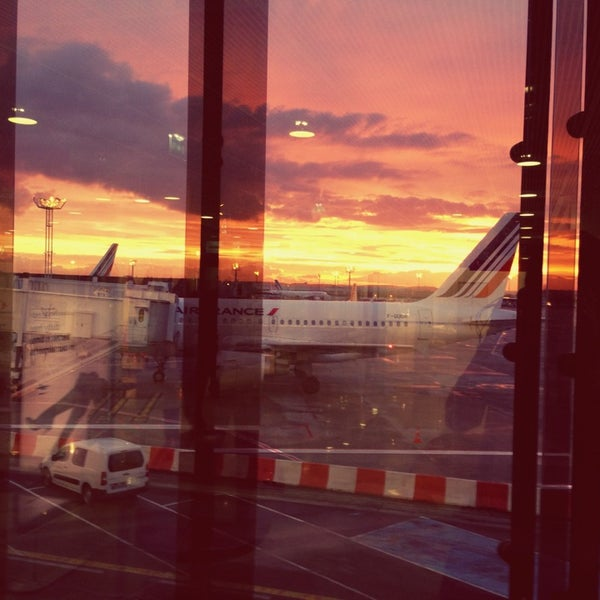 Photo taken at Aéroport de Paris-Orly (ORY) by Anna G. on 2/11/2013