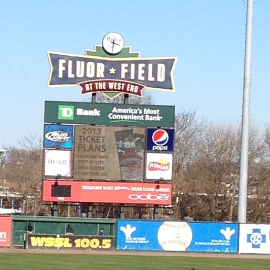 Fluor Field At The West End Baseball Stadium