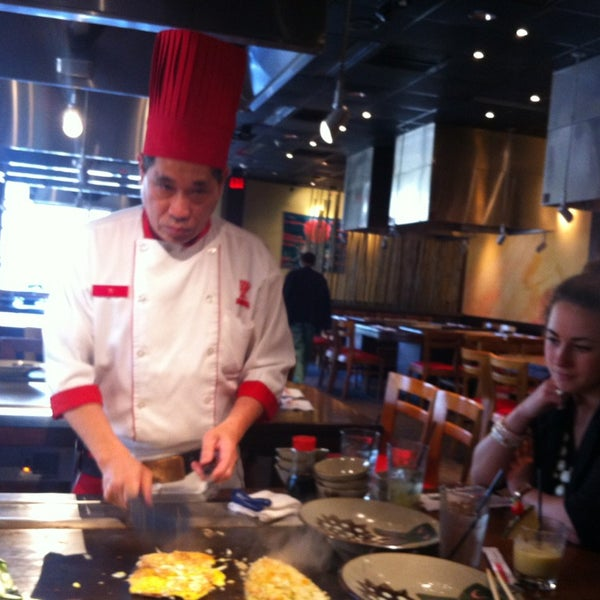 Photo taken at Benihana by Rachel E. on 4/24/2013