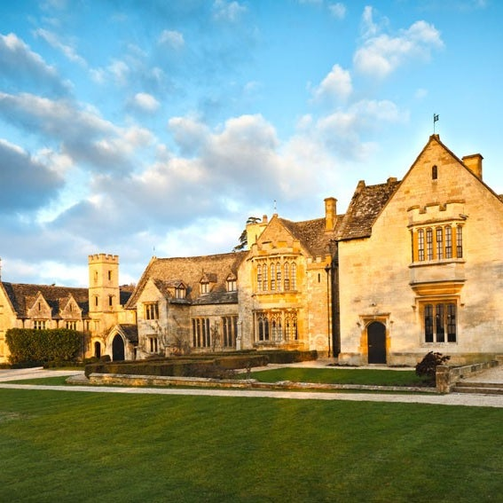 Photo taken at Ellenborough Park by Drooms Hotels on 6/6/2013