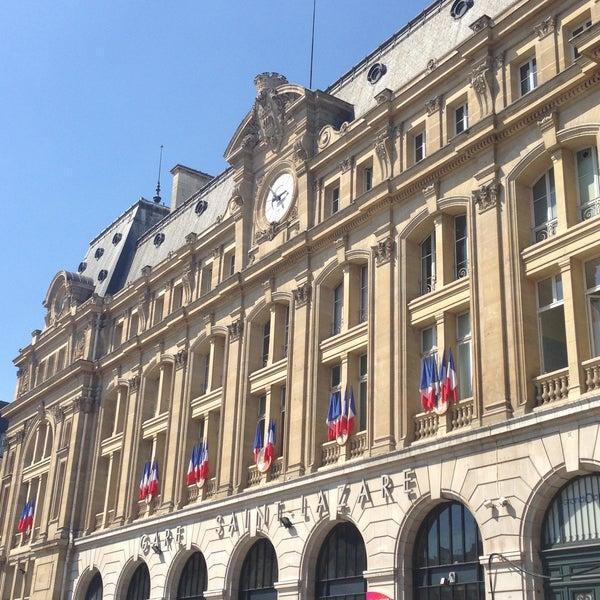 Gare SNCF de Paris Saint-Lazare - Train Station in L'Europe
