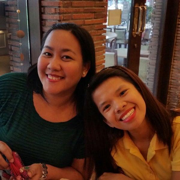 Photo taken at Sérye Café Filipino by Ana O. on 12/20/2014