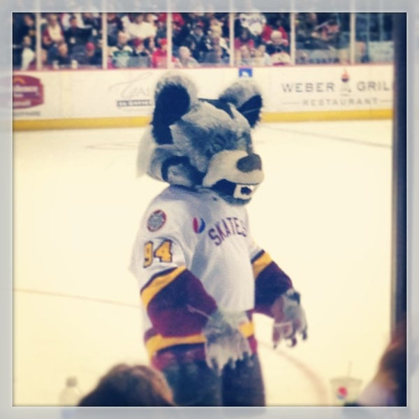 Photo taken at Allstate Arena by Monica B. on 2/25/2013