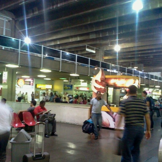 Photo taken at Terminal Rodoviário Governador Israel Pinheiro by Camila D. on 9/14/2012