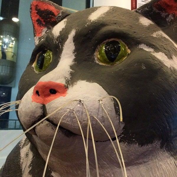 Photo taken at Cat Museum (Muzium Kucing) by Tara S. on 11/4/2014