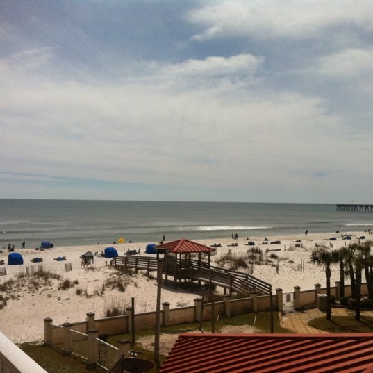 Photo taken at Hilton Pensacola Beach Gulf Front by Alexandrea W. on 3/12/2013