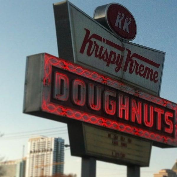 Photo taken at Krispy Kreme Doughnuts by Stacy F. on 3/13/2013