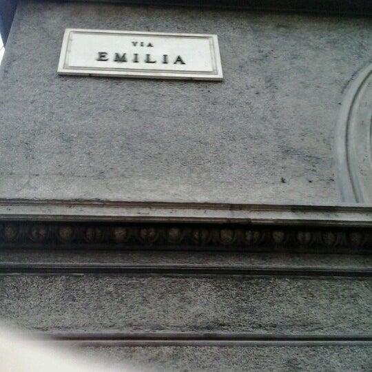 Photo taken at Via Emilia Centro by Marco C. on 11/21/2012