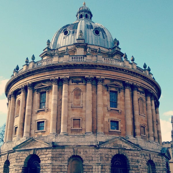 Photo taken at Radcliffe Camera by Valentina F. on 3/26/2015