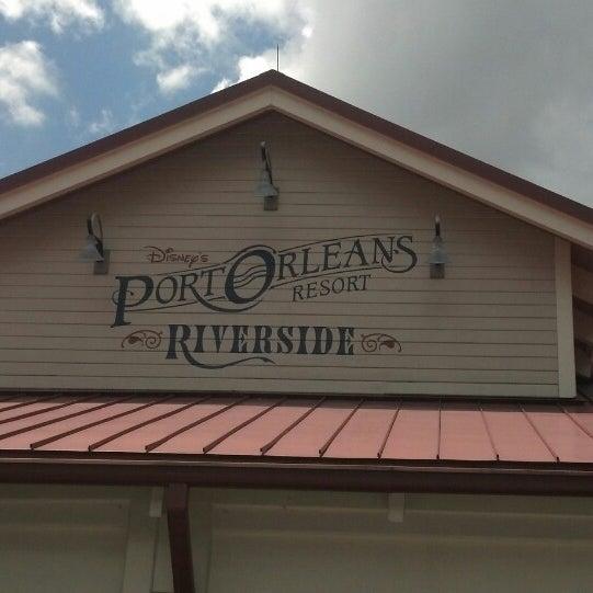 Photo taken at Disney's Port Orleans Riverside Resort by Luz C. on 7/6/2013