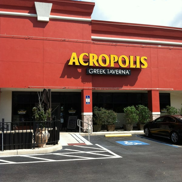 Acropolis greek taverna greek restaurant in tampa for Acropolis cuisine menu