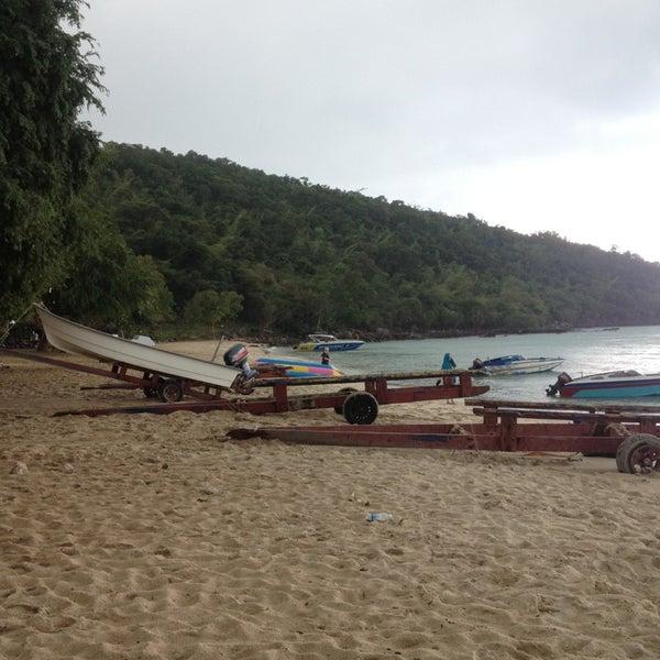 Photo taken at Sai Keaw Beach by 🌟Thongchai T. on 1/31/2013