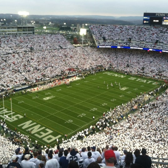 Photo taken at Beaver Stadium by Michelle K. on 10/28/2012