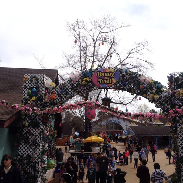 Photo taken at Busch Gardens Williamsburg by Karen J. on 4/6/2014