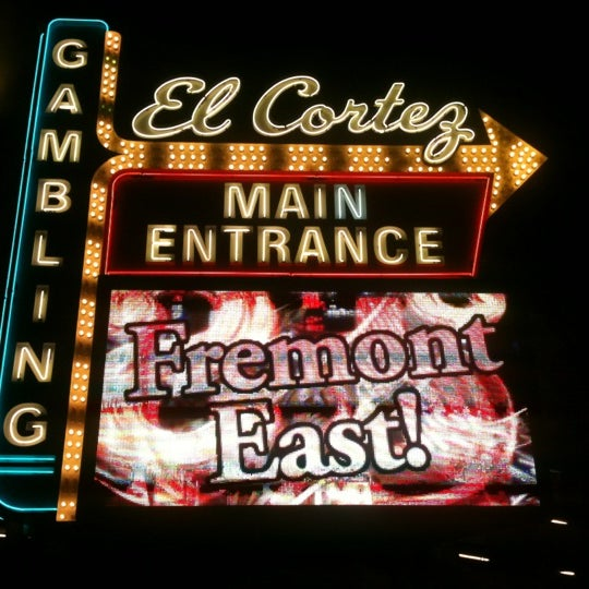 Photo taken at El Cortez Hotel & Casino by Rob M. on 12/11/2012