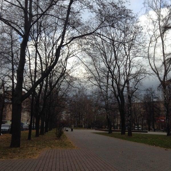 Photo taken at Улица Дмитрия Ульянова by Carolyna D. on 10/25/2013