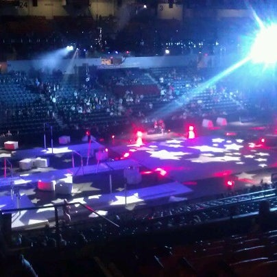 Photo taken at Valley View Casino Center by troi o. on 9/14/2012
