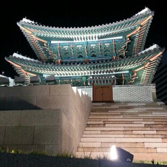 Photo taken at 숭례문 (崇禮門, Sungnyemun) by David C. on 6/6/2013