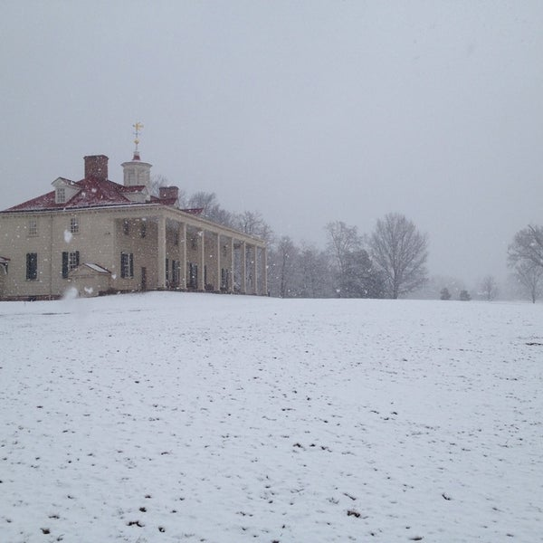 Photo taken at George Washington's Mount Vernon Estate, Museum & Gardens by Michael H. on 2/25/2014