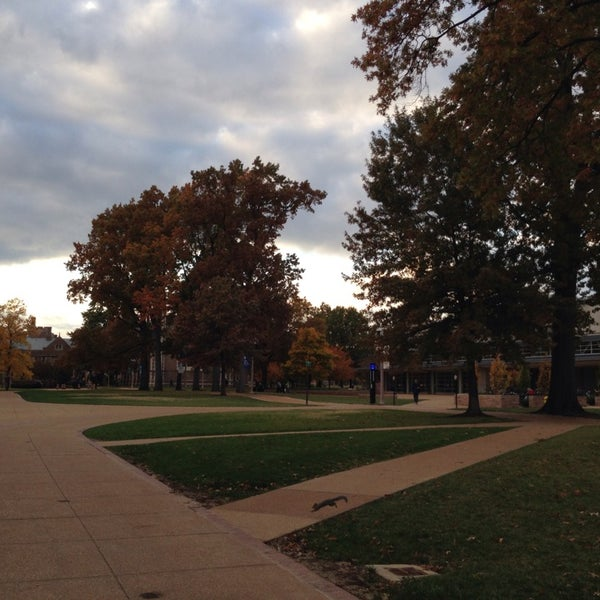 Photo taken at Washington University in St. Louis by Camille S. on 11/2/2013
