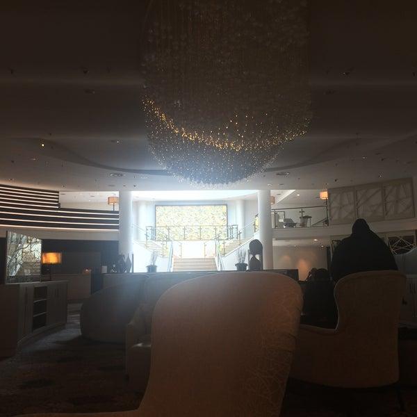 Photo taken at Hilton Munich Park by Emfimbria on 5/30/2015