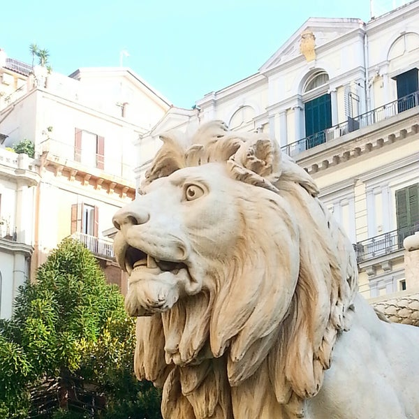 Photo taken at Piazza dei Martiri by Mariacristina C. on 11/22/2014