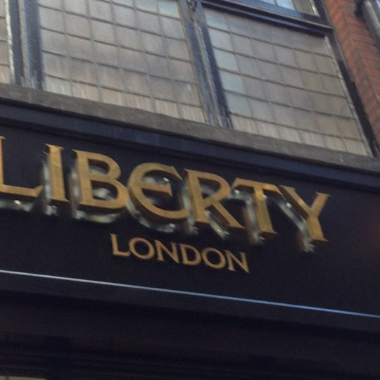 Photo taken at Liberty of London by Mazrina A. on 10/27/2012