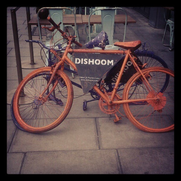 Photo taken at Dishoom by aya m. on 10/15/2012